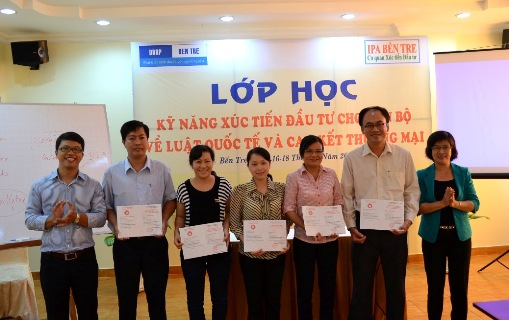 IPA Ben Tre organizes training course in investment promotion skill